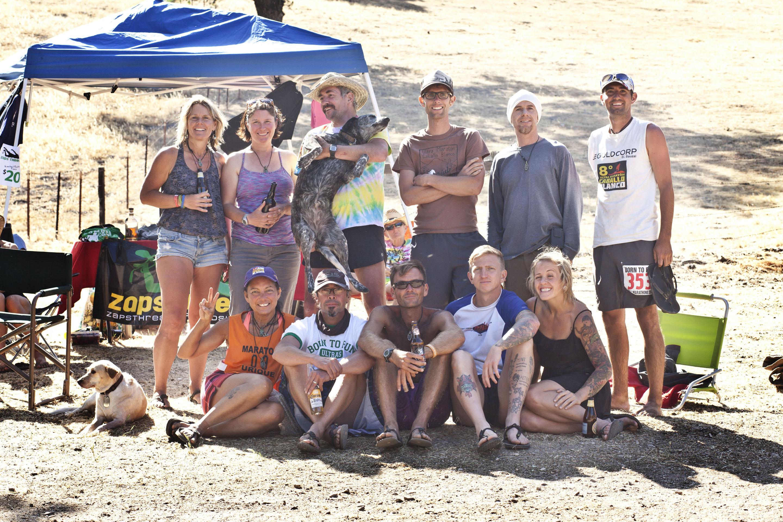 Mas Loco Lunatics! Kelly, Sally, Lola, Mike, me, Patrick M., Caleb, Guadajuko, Maria, Luis, Sweeney, Shawn, Steph.